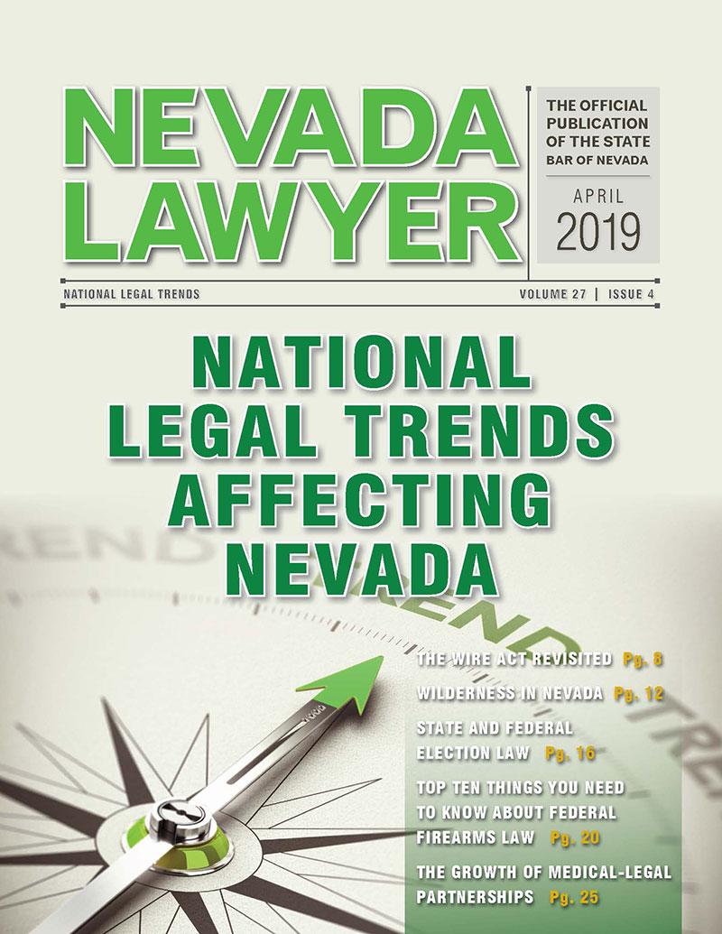 Nevada Lawyer April 2019