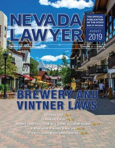 August 2019 Nevada Lawyer Magazine