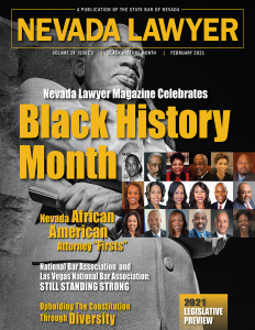 Nevada Lawyer magazine Feb. 2021