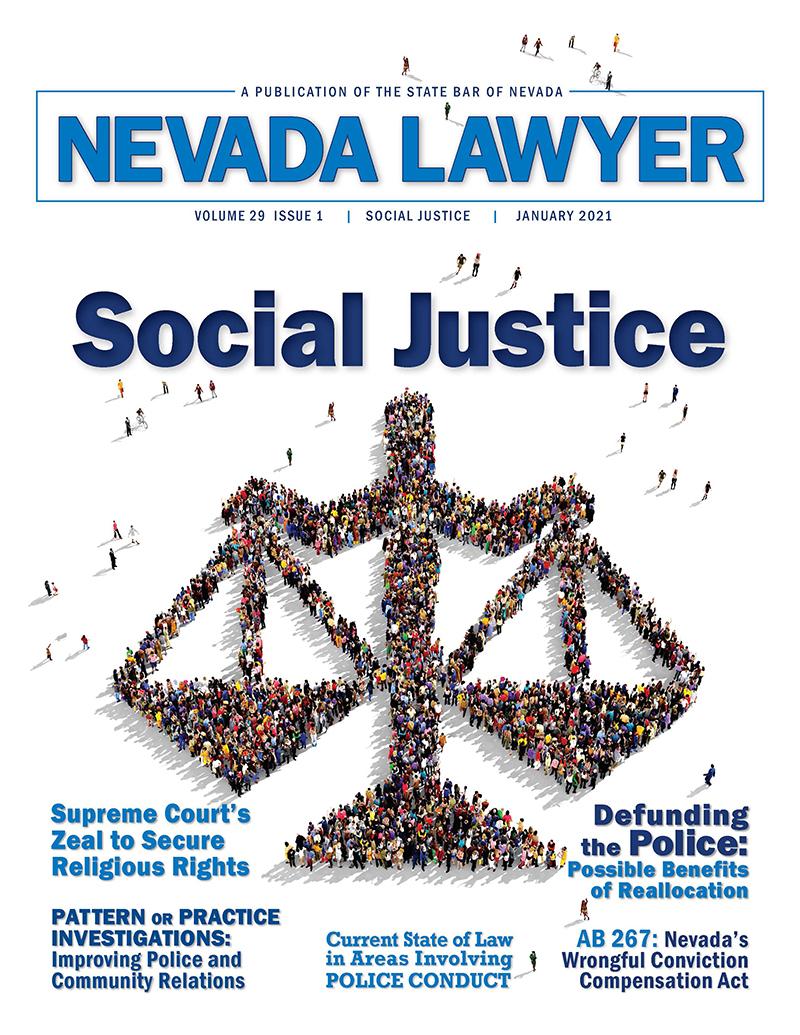 Nevada Lawyer magazine Jan. 2021