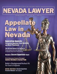 Nevada Lawyer Magazine - June 2021