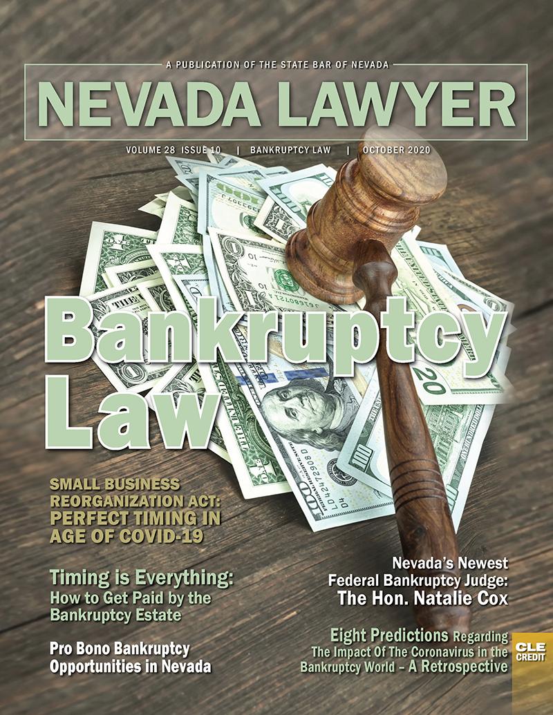 Nevada Lawyer Magazine October 2020