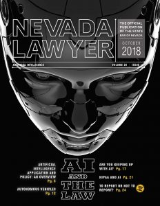 Nevada Lawyer October 2018