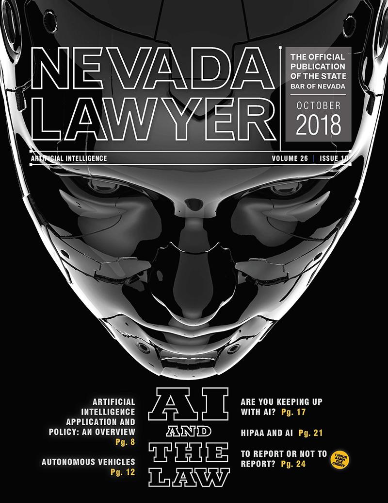Nevada Lawyer October 2018