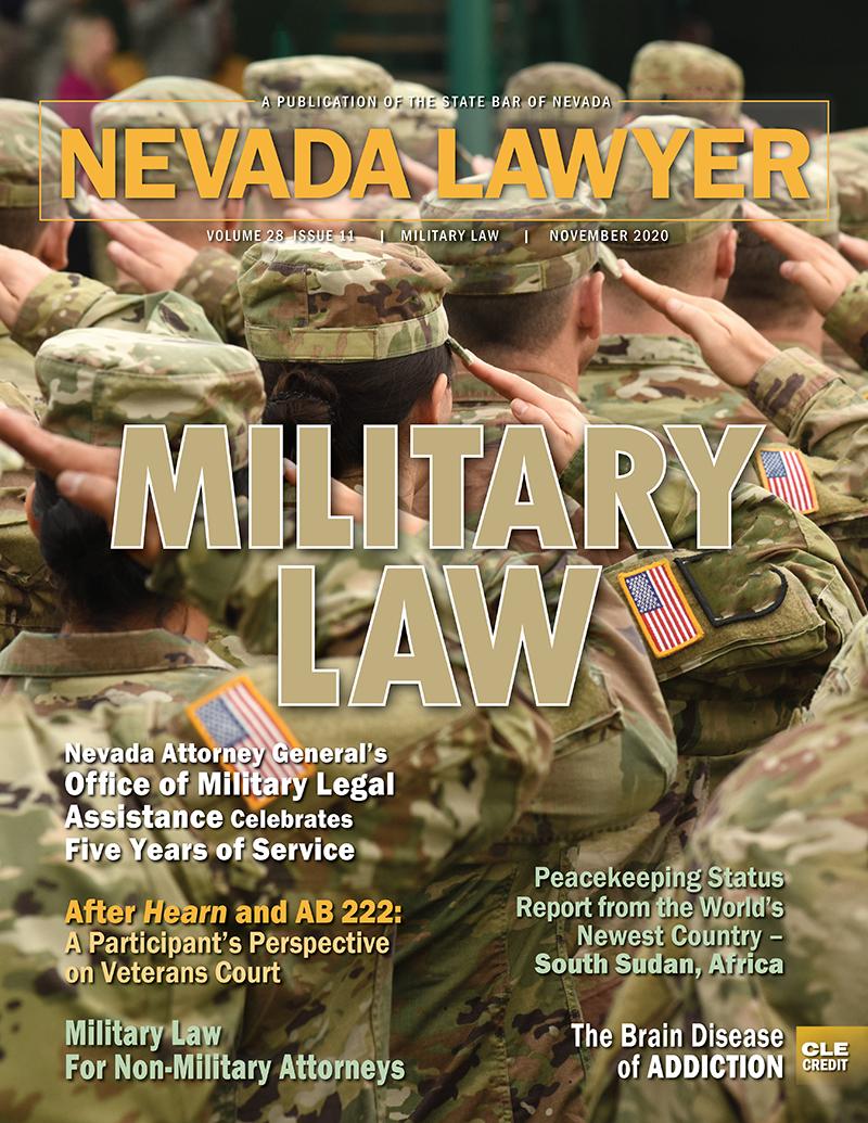 Nevada Lawyer Nov. 2020
