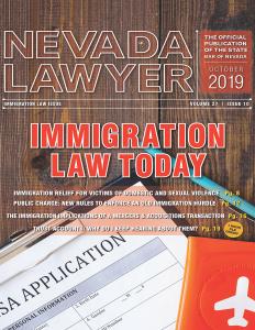 Nevada Lawyer - October 2019